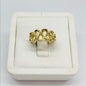Real 14k Solid Gold Women's Ring Size 6